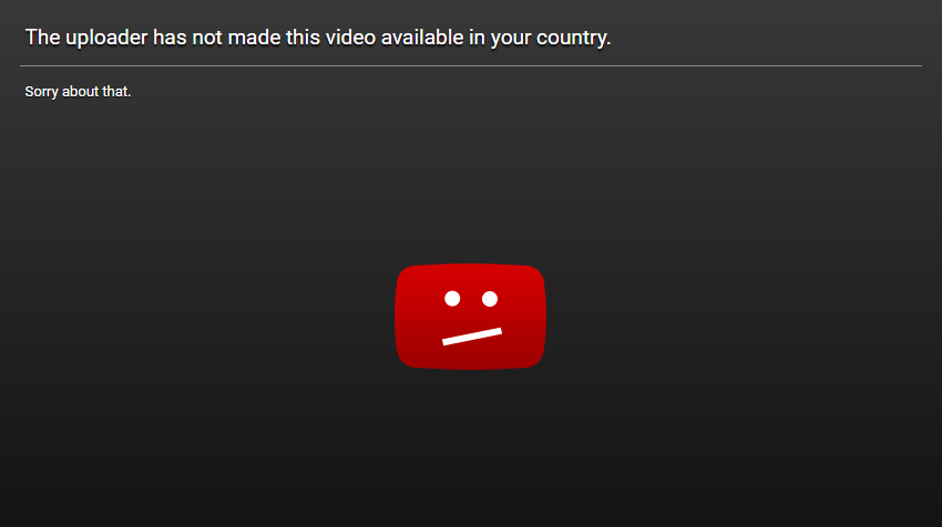 Countries that have YouTube blocked