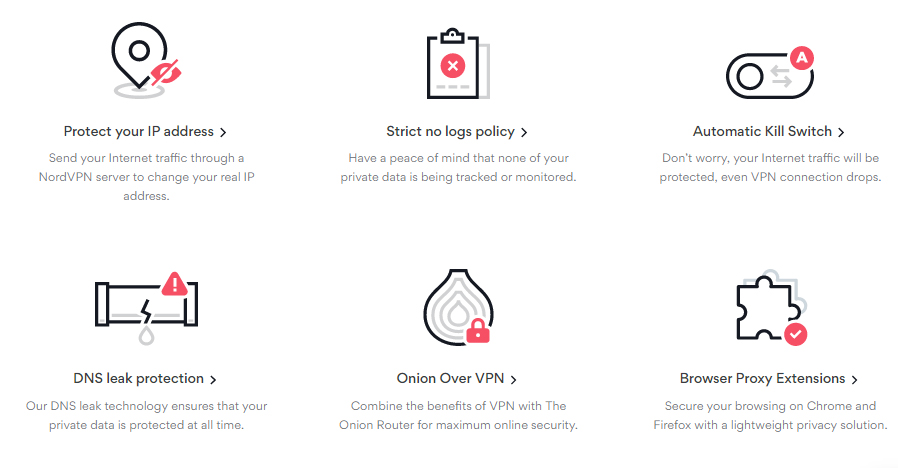 nord vpn privacy