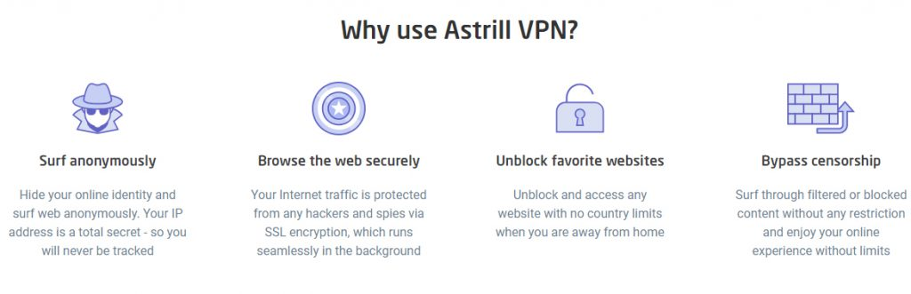 Why use Astrill VPN?